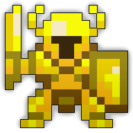 Golden Oryx Effigy